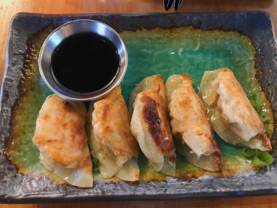 Ume Chicken Gyoza